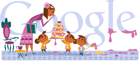 Google Doodle Mother?s Day 2013 International