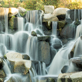 Waterfall by Scott Padgett - Landscapes Waterscapes (  )