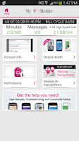 Screenshot of T-Mobile MyAccount [Legacy]