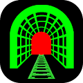 App 3D Train Tunnel Simulation LWP apk for kindle fire