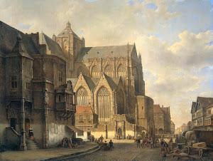 RIJKS: Kasparus Karsen: painting 1880
