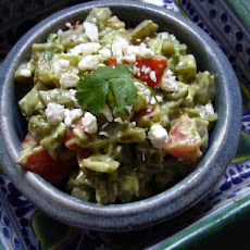 Cactus Salad With Avocado Dressing- Nopales