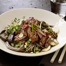 Asian Pork with Noodles