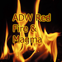 ADW Red Fire & Magma Theme Pro icon