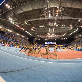 Birmingham Indoor Grand Prix - Feb '15 by Toyin Oshodi - Sports & Fitness Running ( field, athletics, birmingham, track )