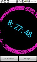 Screenshot of Storm Clock