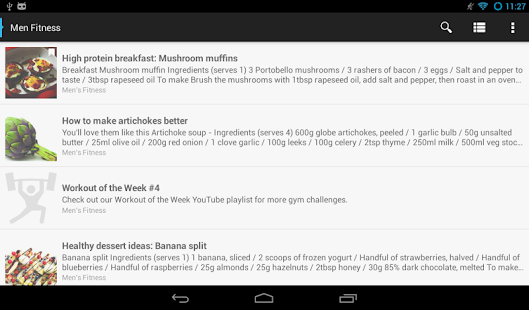 Men Fitness - Reader - screenshot
