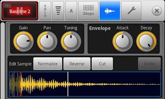 Screenshot of SPC - Music Drum Pad Demo