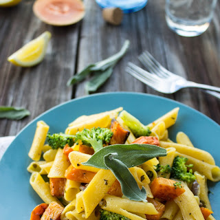 Pasta with Butternut Squash, Sage, and Brown Butter