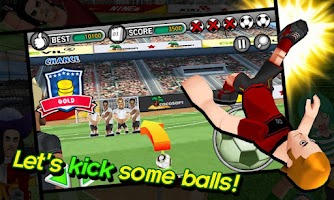Screenshot of Freekick Battle