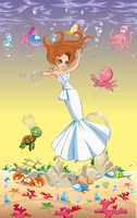 Screenshot of Little Mermaid Dress Up