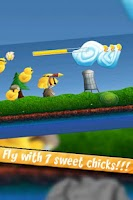 Screenshot of Flying Chicks