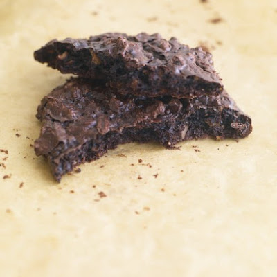 Flourless Double-Chocolate Pecan Cookies