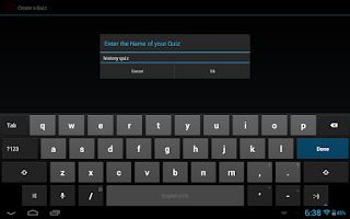 Screenshot of CAQ Key