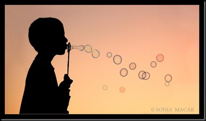 sonia macak - blowing bubbles