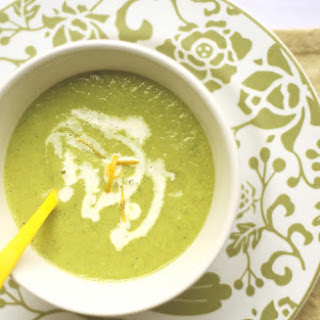Fennel & Green Peas Soup