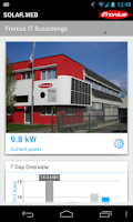 Screenshot of Fronius Solar.web