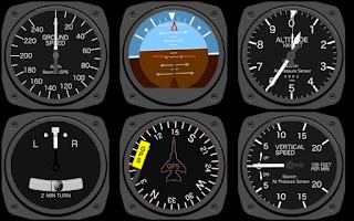 Screenshot of Aircraft Cockpit Demo