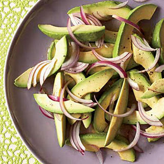 Avocado-and-Onion Salad