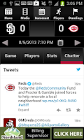 Screenshot of Cincinnati.Com Reds Baseball