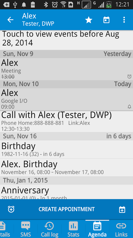 DW Contacts & Phone & Dialer Screenshot 3