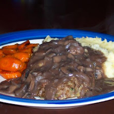 Salisbury Steak and Mushroom Gravy