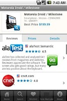 Screenshot of alaTest Reviews