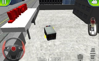 Screenshot of Ambulance Parking 3D Extended