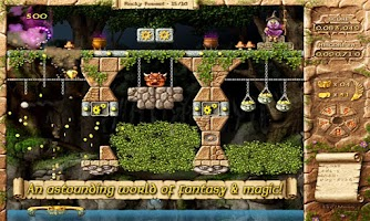 Screenshot of Fairy Treasure Brick Breaker