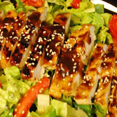 Asian Barbecue Chicken Salad