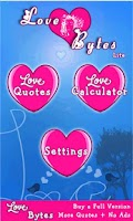 Screenshot of Love Bytes Lite