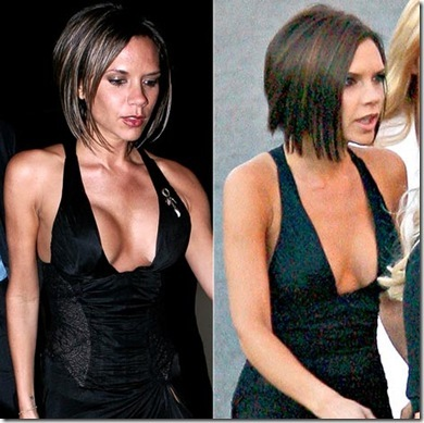 Victoria Beckham Hairstyles Pictures