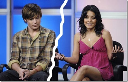 Yes, that's right, Vanessa Hudgens and Zac Efron are SPLITSVILLE!
