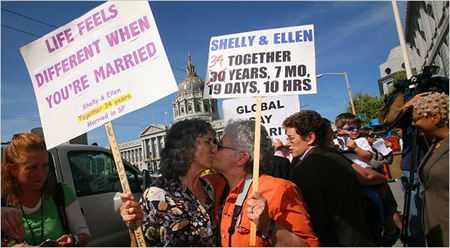 Gay Marriage, Now Constitutional in California