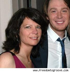americal idol clay aiken and producer jaymes foster picture