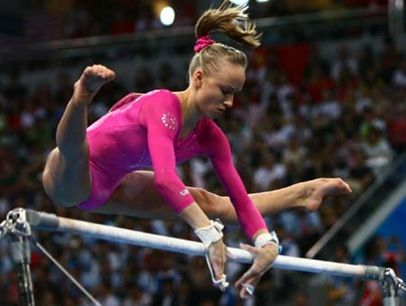 Nastia Liukin Beijing Olympics Women All-around Gymnastics Gold Medal