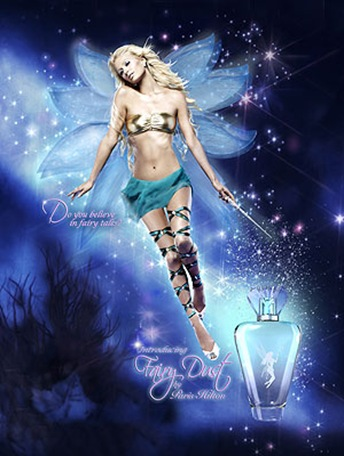 Paris Hilton Fairy Dust Ad Campaign Photos