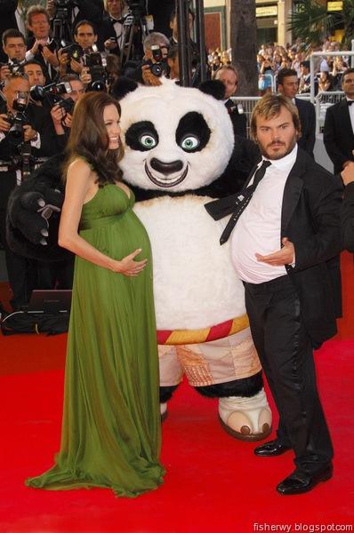 Angelina Jolie & Jack Black