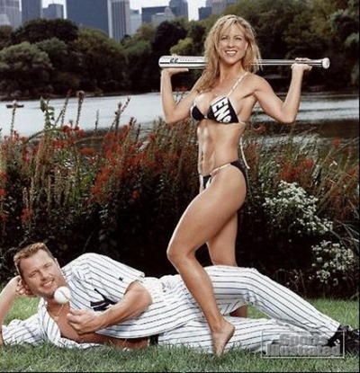 Roger_clemens With HIS Wife