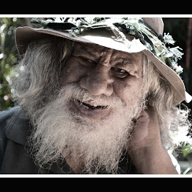 Once a jolly Swagman... by Marc Steiner - People Portraits of Men (  )