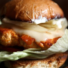 """Buffalo wing"" turkey burgers"