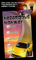 Screenshot of Hazardous Highway Car Racing
