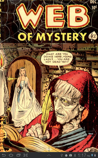 Web of Mystery 6 Comic Book