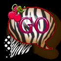 GO SMS THEME/CherryZebra1 icon