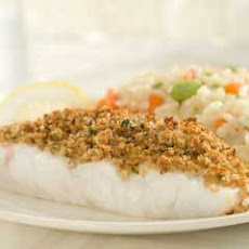 Lemony Walnut-crusted Fish Fillets
