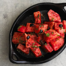 Watermelon and Aleppo Salad