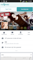 Screenshot of PK Sport
