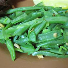 Toasted Almond Green Bean Salad