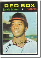 '71 Jarvis Tatum