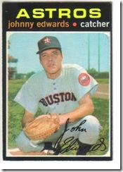 '71 Johnny Edwards
